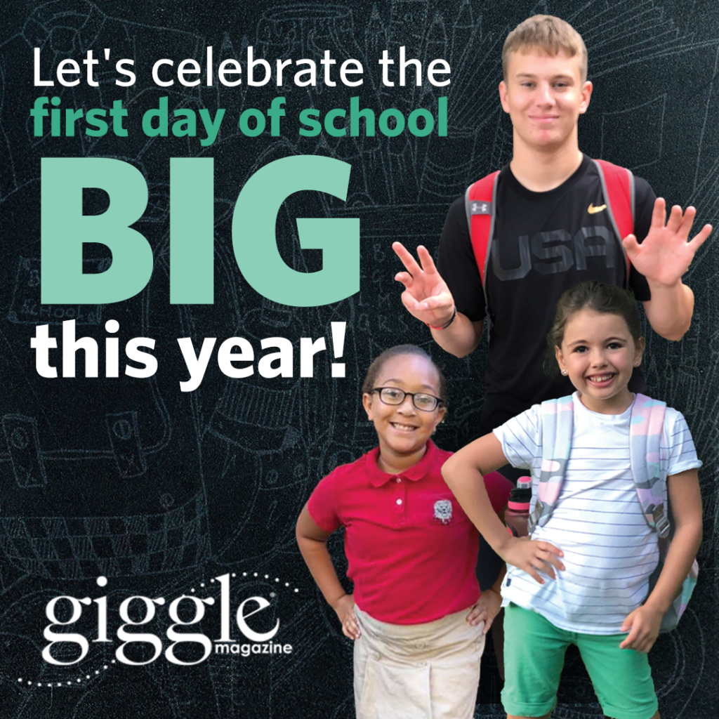 giggle back to school photo call out